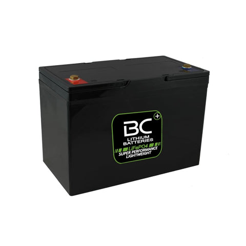 "BCLT100 | Batteria Litio LiFePO4, 12,4 kg, 12V 100 Ah a Scarica Profonda ""Deep Cycle"" per Camper, Roulotte, Barche e Carrelli Elevatori - BC Battery Italian Official Website"