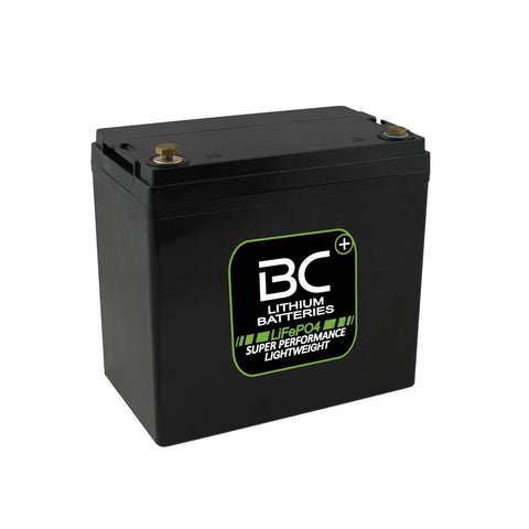 "BCLT50 | Batteria Litio LiFePO4, 6,3 kg, 12V 50 Ah a Scarica Profonda ""Deep Cycle"" per Camper, Roulotte, Barche e Carrelli Elevatori - BC Battery Italian Official Website"
