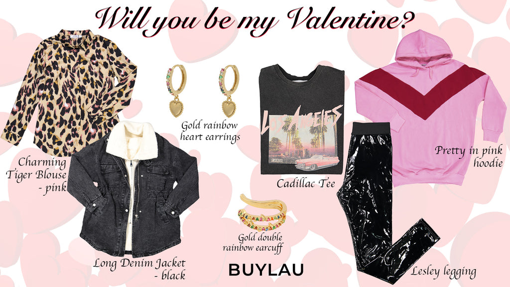 STYLINGTIP: WILL YOU BE MY VALENTINE?