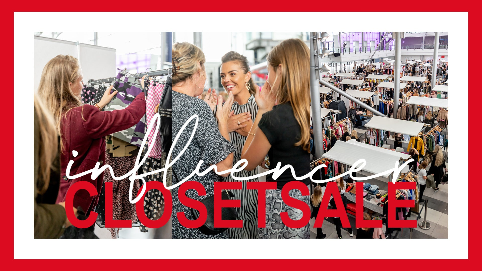 THE INFLUENCER CLOSETSALE IS BACK!
