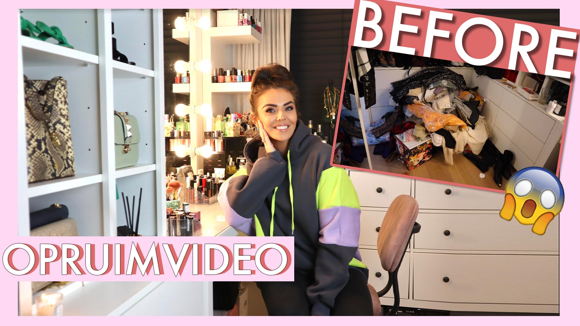 OPRUIMVIDEO + BEAUTY/CLOSET TOUR