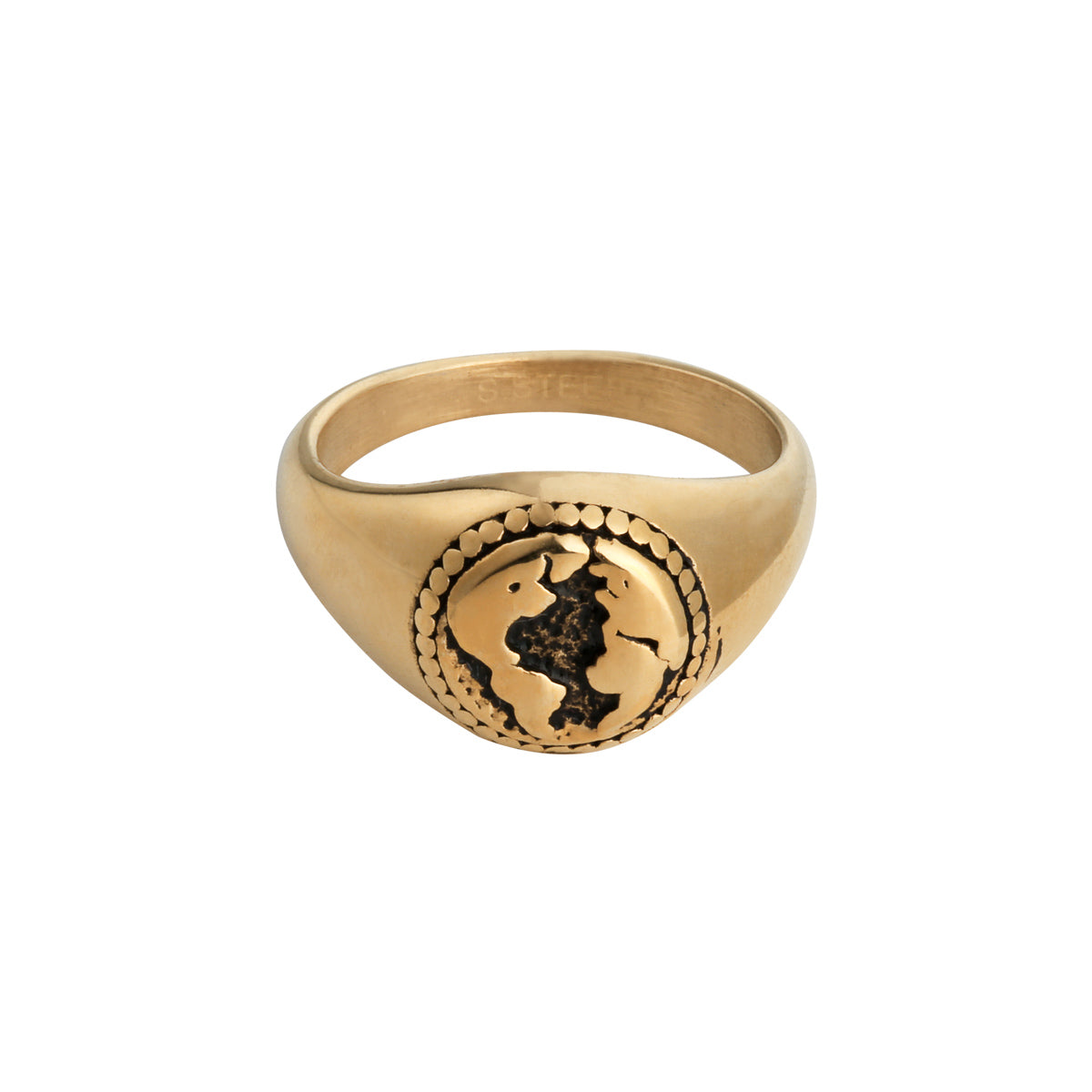 Gold World Ring