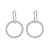 Curly Earrings - Silver