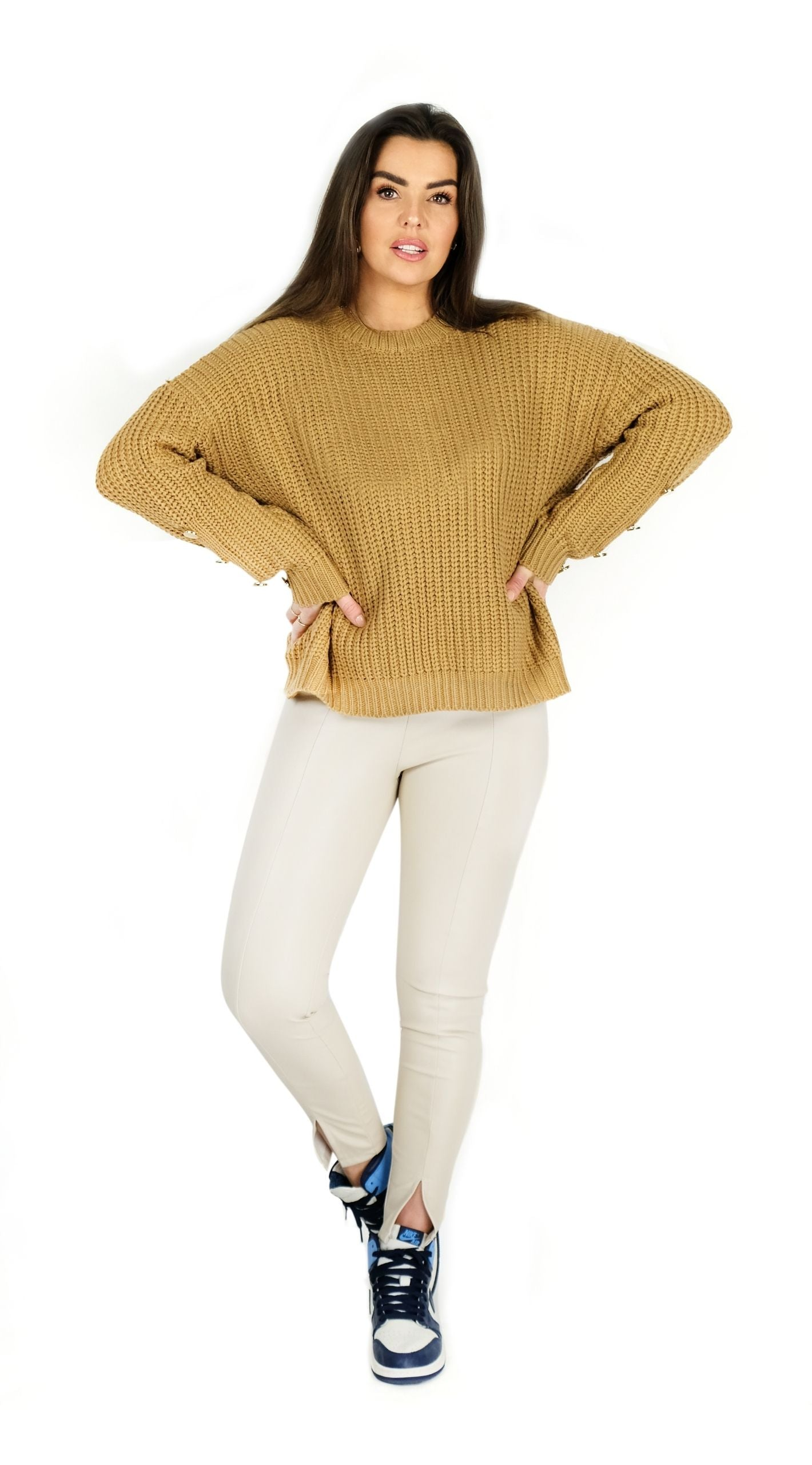 Knitted Sweater - Vicky