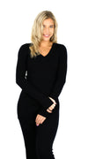 BUYLAU | REINDERS | Reinders Twin Set Black Sweater