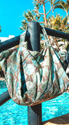 Marble Big Shopper XL Aqua-licious