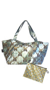 Marble Big Shopper XL and Marble Clutch