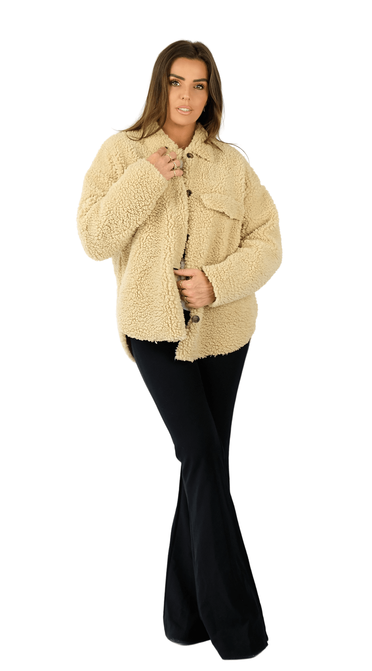 Puffy Lammy Teddy Blouse - Diddi