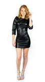 Perfect Faux Leather Dress