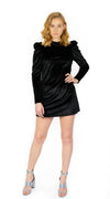BUYLAU | Velvet Dress Black