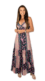 Flower Maxi Dress - Sheryl
