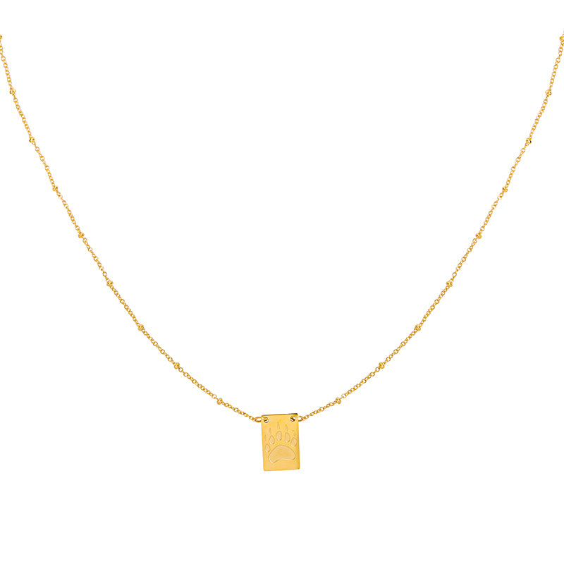 Gold Rocks Necklace