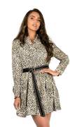 Leopard Lady Dress - Diana