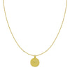 Gold Medaillon Necklace