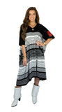 Funda Poncho Black & White
