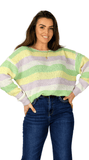 Striped Pastel Sweater - Mees