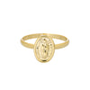 Gold Mary Ring