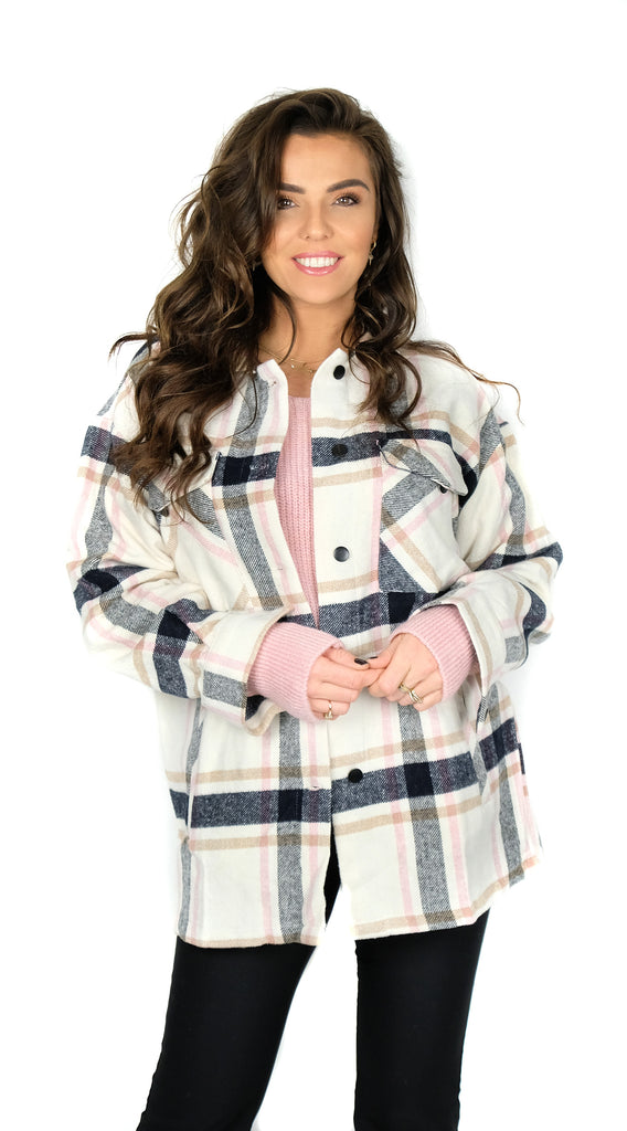 BUYLAU, Checked Blouse Pink, Laura Ponticorvo