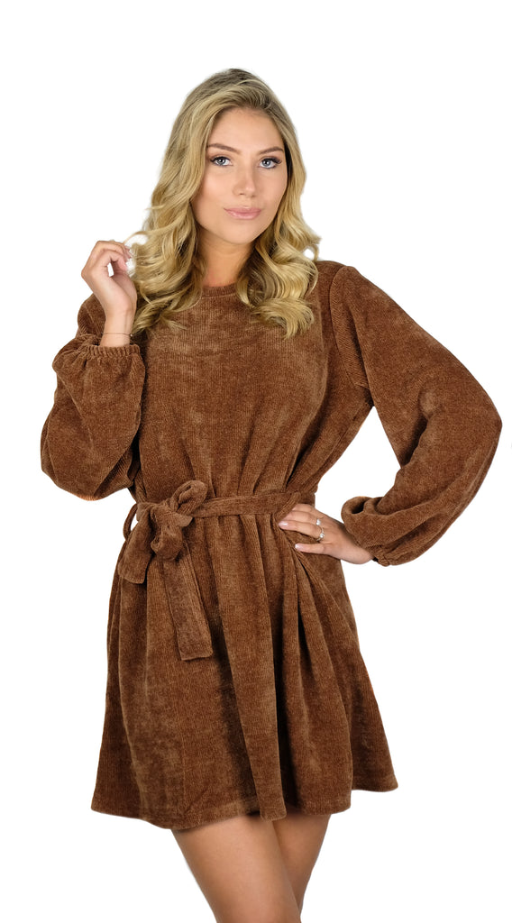 Day Dream Dress - Brown