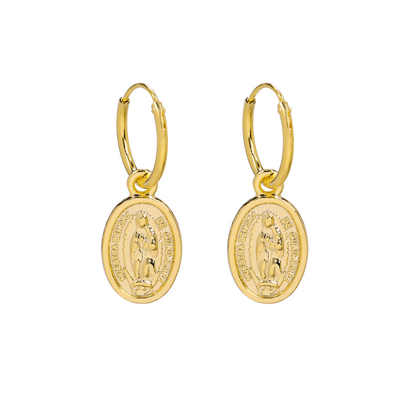 The Mary Gold Earring