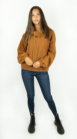 Teddy Sweater Brown