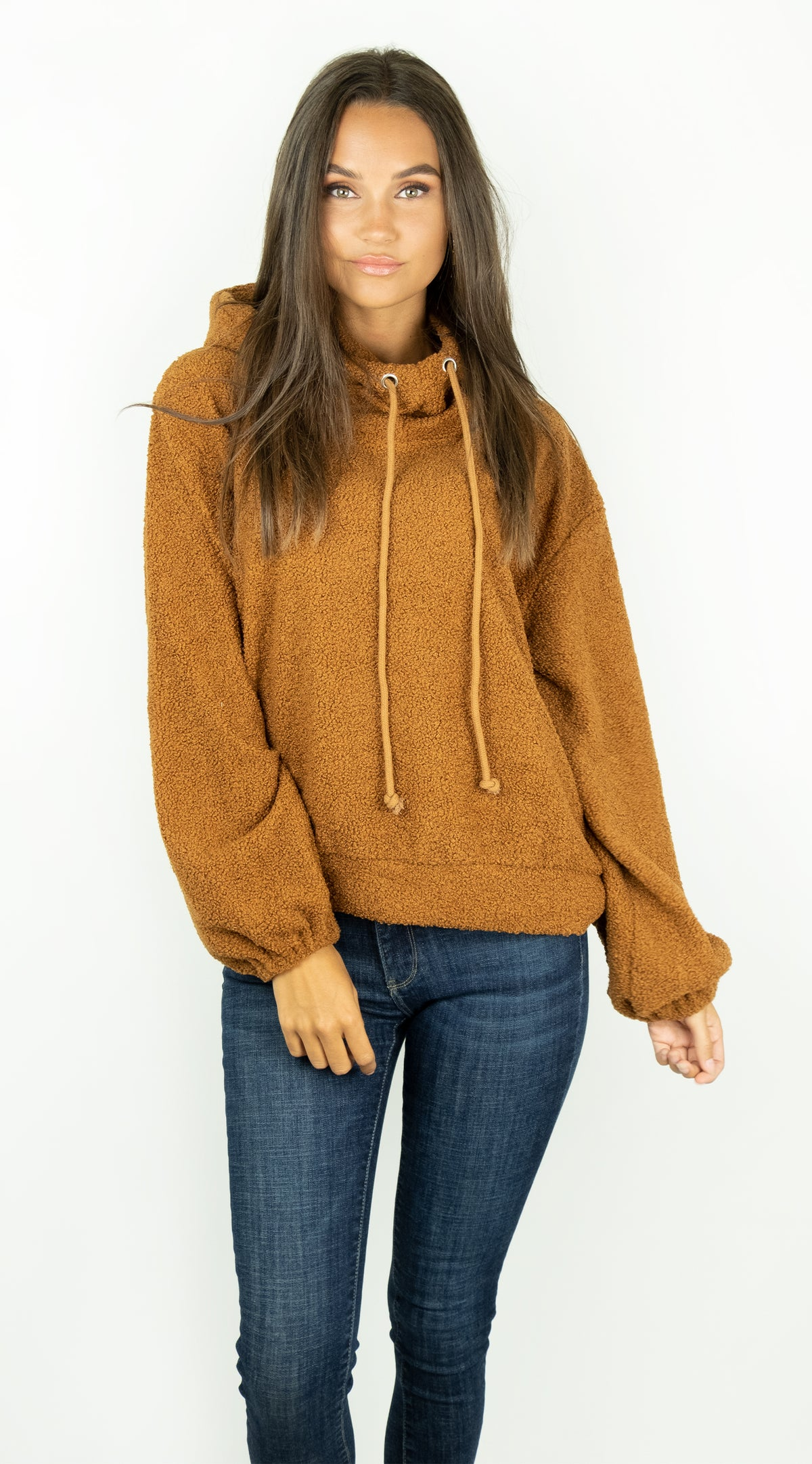 BUYLAU | Teddy Sweater Brown