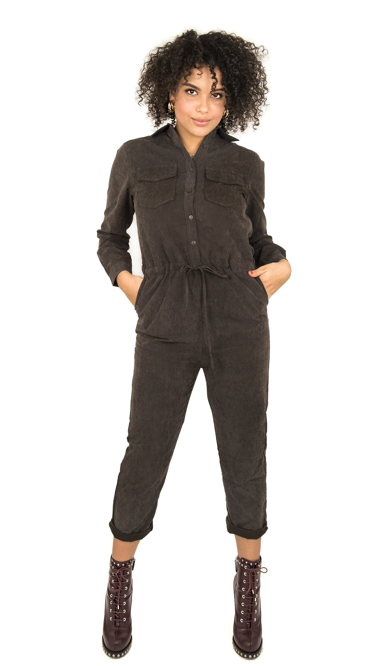Boilersuit Grey/Brown