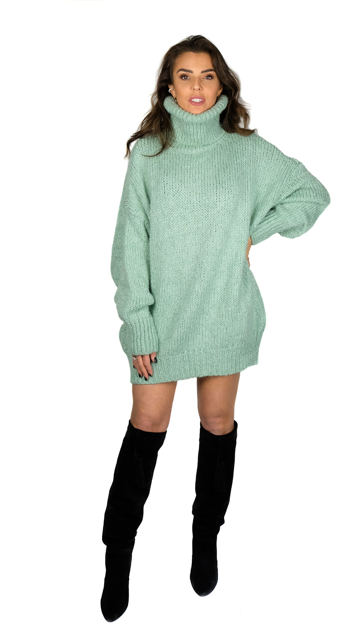 BUYLAU | Col Me Oversized Green