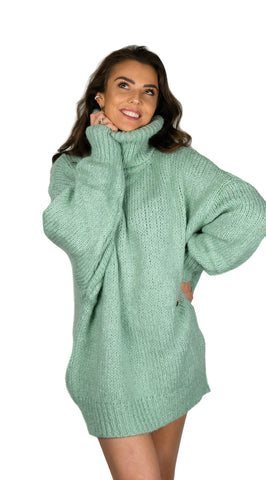 Col Me Oversized Green