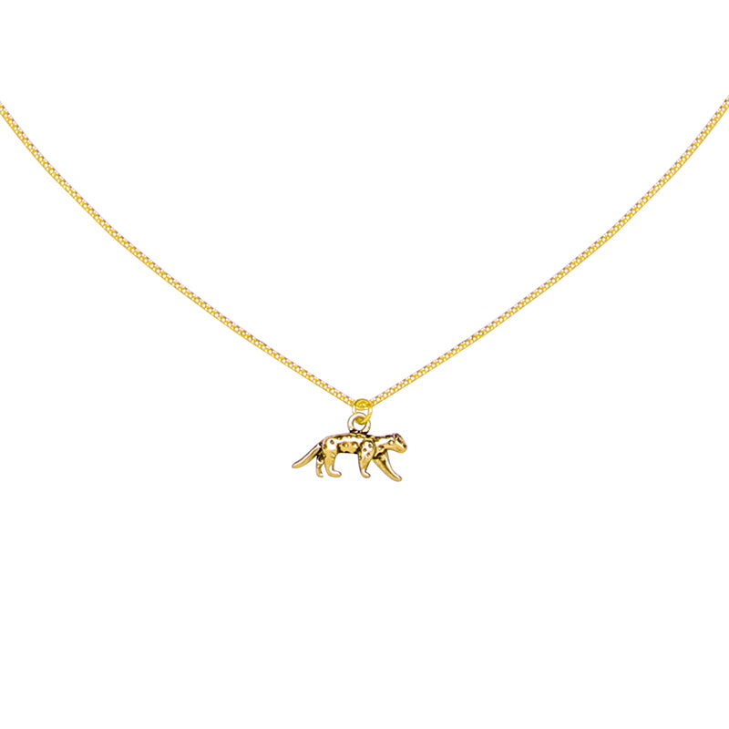 Leopard Necklace Gold