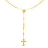 Rosary Necklace Gold