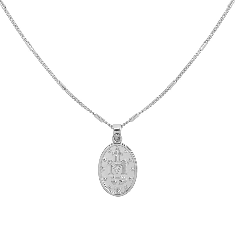 Silver Necklace 'The Mary'