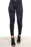'Perfect Fit' Black Skinny Jeans