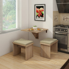 Expert B Wall-Mounted Folding Dining Table - Furniture.Agency