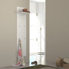 GOCCIA White Gloss Hall Tree