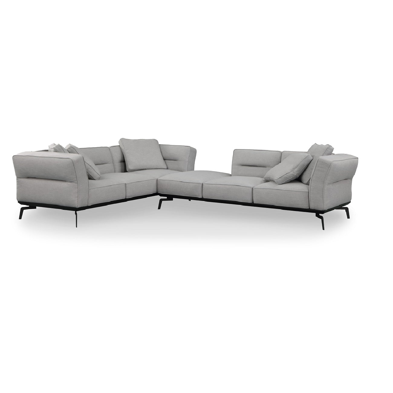 Cool Merino 2 Piece Sectional Furniture Agency Bralicious Painted Fabric Chair Ideas Braliciousco