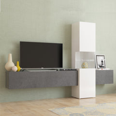INCONTRO Modern TV Set, Multiple Finishes - Furniture.Agency