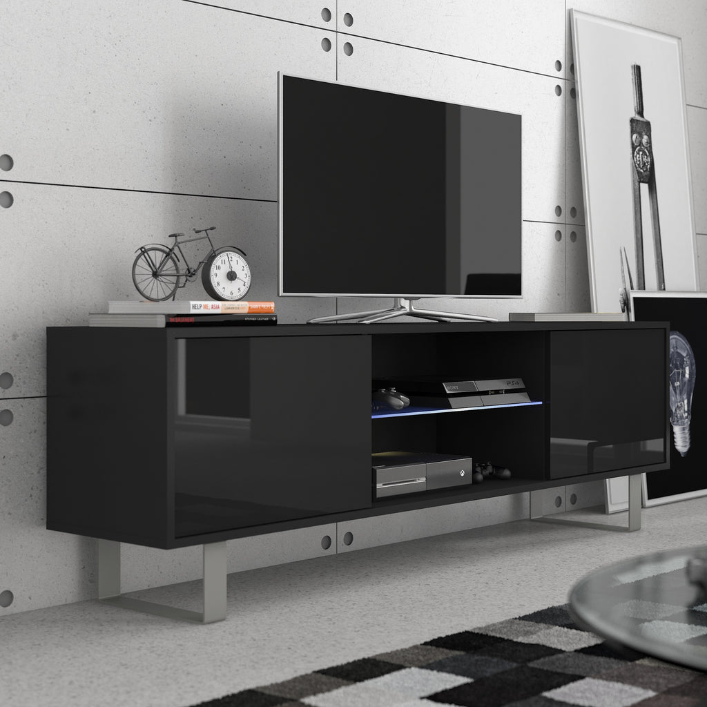 King High Gloss TV Stand, Multiple Finishes - Furniture.Agency