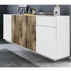 CROSS Large White&Perera Sideboard