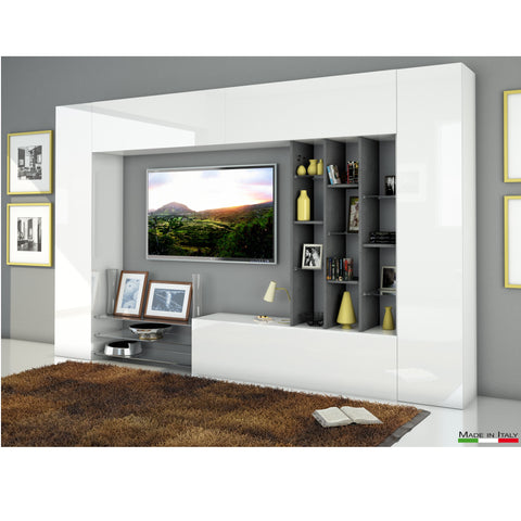 EGYPT B High Gloss Entertainment Center for TVs up to 60""
