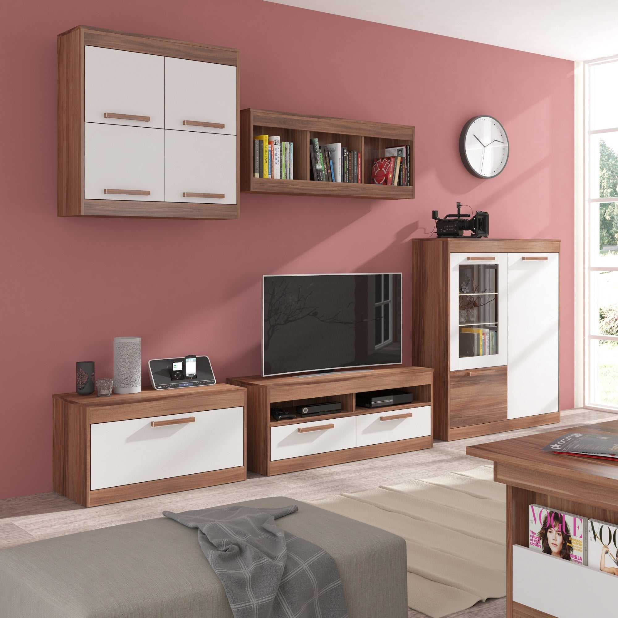 Maximus 5-piece TV Set, Multiple Finishes