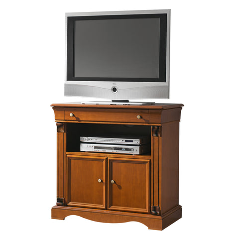 Rig 2 Cabinets 1 Drawer Solid Wood TV Stand
