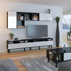 "Sven High Gloss TV Stand, for TVs up to 88"" - Furniture.Agency"