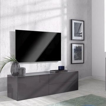 METIS 2 Drawers 1 Cabinet TV Stand, for TVs up to 48""