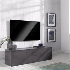 METIS 2 Drawers 1 Cabinet TV Stand, Multiple Finishes
