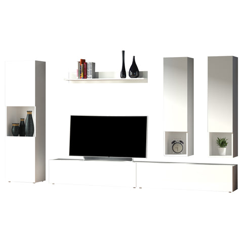 QUEST High Gloss 5 Piece TV Set