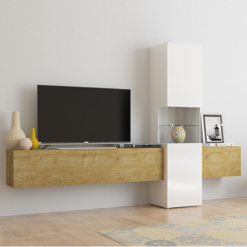 INCONTRO Modern TV Set, Multiple Finishes