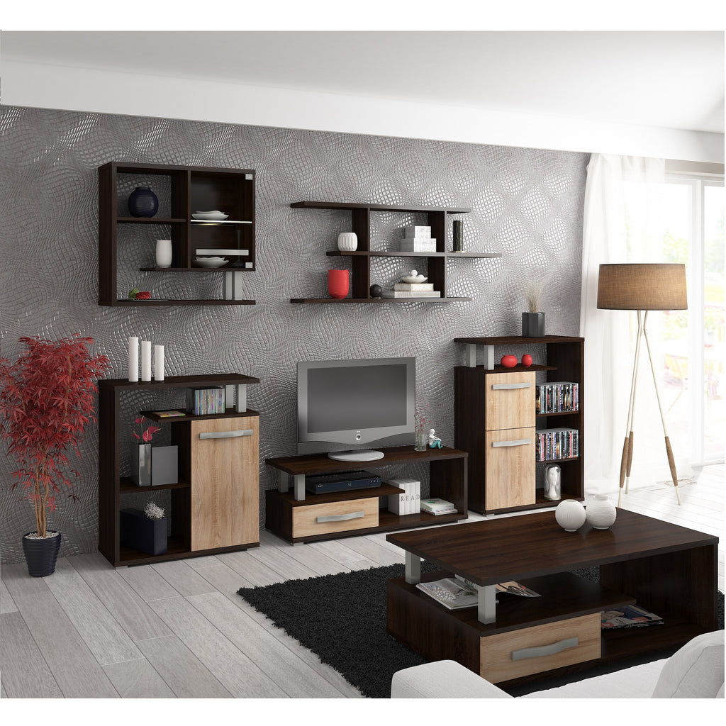 Angel 5-piece TV Set, Multiple Finishes - Furniture.Agency