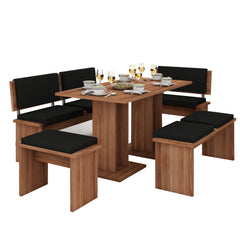 Bond 5-piece Dining Room Set - Furniture.Agency