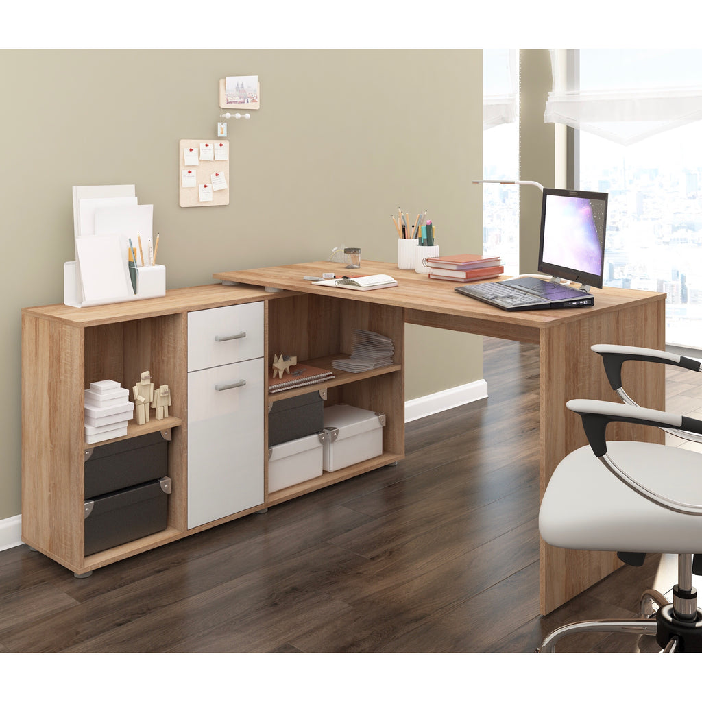 Beat Multi-Position Corner Desk - Furniture.Agency